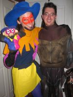 Clopin Trouillefou and Puppet Clopin w/ Night Owl by techaspike