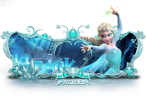 Elsa Frozen Sign by Cristiano-LoLDark