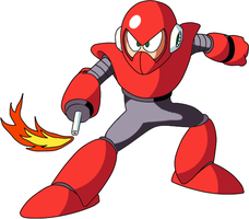 Megaman 3 PC - Torchman by Tsuki-no-michi