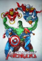 Avengers by tomhegedus