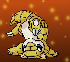 Sandshrew by K3RI1