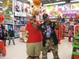 Me and Geoffrey Toys R Us Carle Place, NY by KobaltTools48