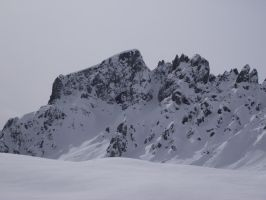 Snow top mountains by lordstormZ