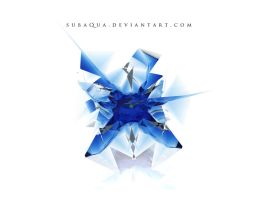 Blue crystal by subaqua