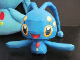 Manaphy Papercraft by PrincessStacie