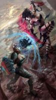 Vi Vs Eve by Xail-CAG