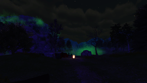 Level Design 3D - Night Forest by HeadmasterGD