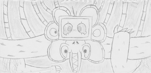 3 Part Omega Flowey Sketch by FunnystufBurrito