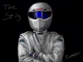 The Stig by eviolinist