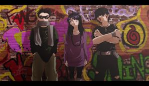 Team 8 graffiti by Nishi06