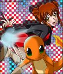 SS - Naoko and Charmander by AnzuAngel