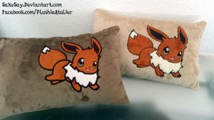 Eevee Pillows by SakuSay