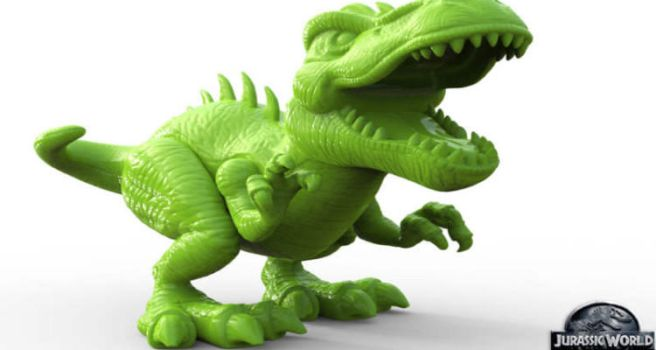 Jurassic World Toy Sculpts With Zbrush by avcgi360