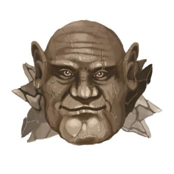Stone Troll Face by ra1ncloud