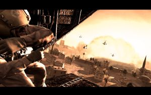 Call of Duty 4: Nuclear Blast by seanthebond