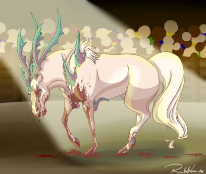 Deluce aftermath by DragonsFlameMagic