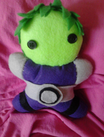 Beast Boy (Teen Titans) by MandieDaFerocious