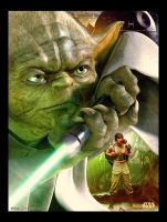 Star Wars : Yoda by jdesigns79
