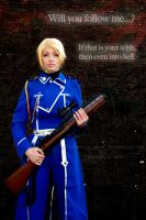 By your side - Riza Hawkeye Cosplay by Artemisia-Amore