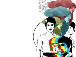 Bruce Lee by alvito
