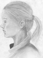 Life Drawing of Casie Fox by sanora