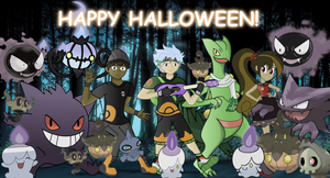 Pokeween: Do The Ghost Pokemon Groove! by REMcMaximus