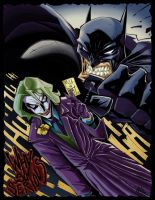 Kill The Bat Collaboration by PsychoSlaughterman