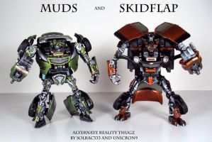 Muds and Skidflap by Unicron9