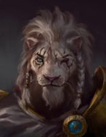 Anjani Portrait Study Magic the Gathering by Artofryanyee