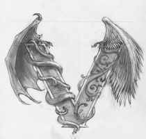Tattoo sketch by phoebus-chango
