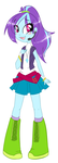 Equestria Girls style Glimmer Wave by theluckyangel