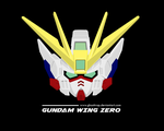 Gundam Wing Zero Head Vector by GhostTrap