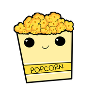 Popcorn PNG by BellaThorneAlways
