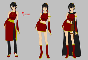 Avatar OC: Yumi by KhairiLoneliness