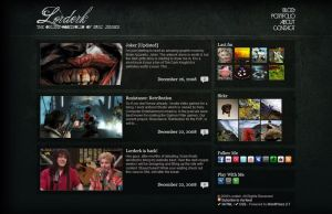 Wordpress Design - Lorderk by lorderk