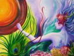 Painting dreams by zuriam