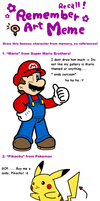 Remember Meme by Nintendrawer