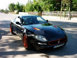 Maserati 3200 GT Front by PepiDesigns