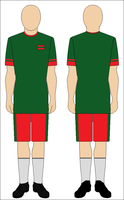 Football kit of the Transnistrian Football Team by kyuzoaoi