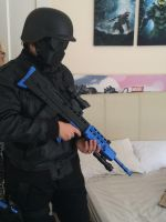 Umbrella Corporation Soldier (unfinished 3) by DovaDrive