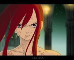 Fairy Tail Erza by Saint-Preux