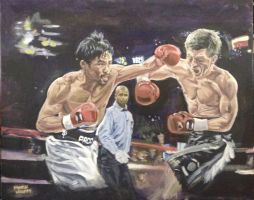 Manny Pacquiao Painting by muzzy002