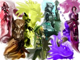 Seven Sins of Guild Wars 2 by Inaze