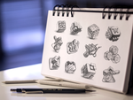 MacOS App Icon Sketches by Ramotion
