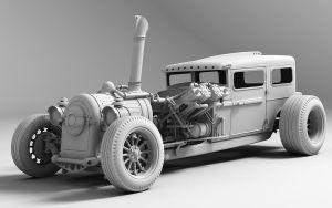 WIP Steam Hotrod by Aci-RoY
