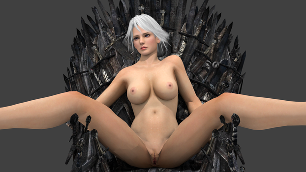 Christie and Iron Throne  2 by vamp3003