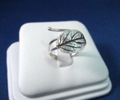 Secret Garden Leaf Ring by GipsonDiamondJeweler