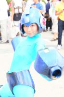 Mega Man Cosplay by himefuji