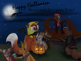 Happy Halloween by Fennekfuchs
