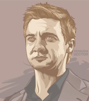 Jeremy Renner by GranadaVector